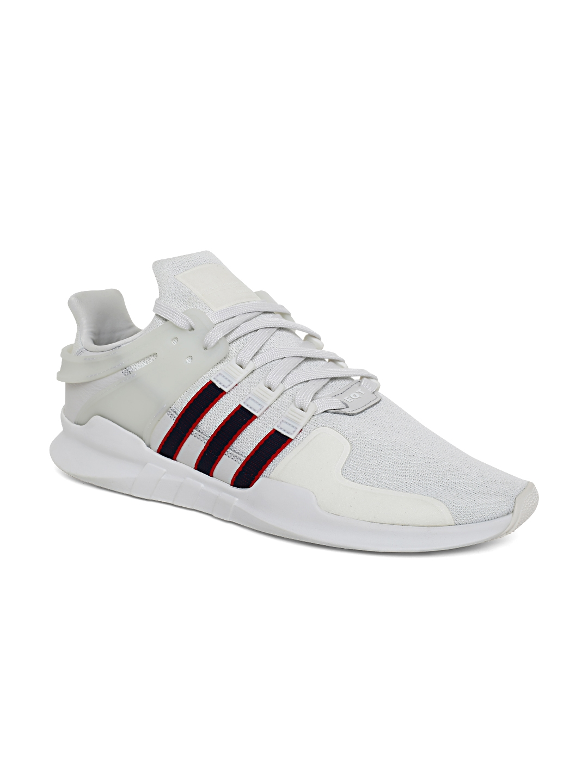 huge discount d807e a0e7c Buy ADIDAS Originals Men White EQT Support ADV Sneakers ...