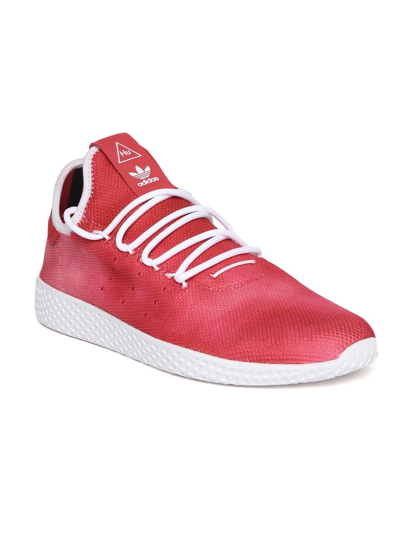 29bbc1c91 Buy ADIDAS Originals Men Red PW HU Holi Tennis Sneakers - Casual ...
