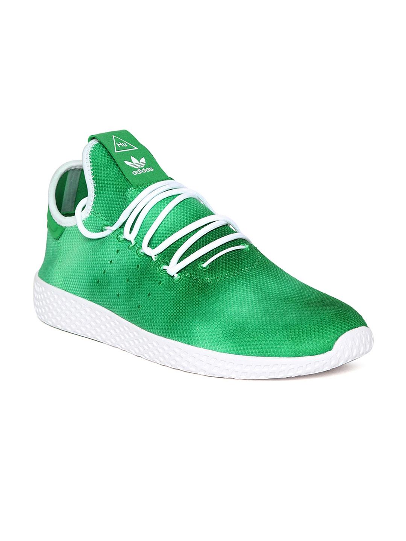 2d87c590ba2 Buy ADIDAS Originals Men Green PW HU Holi Tennis Sneakers - Casual ...