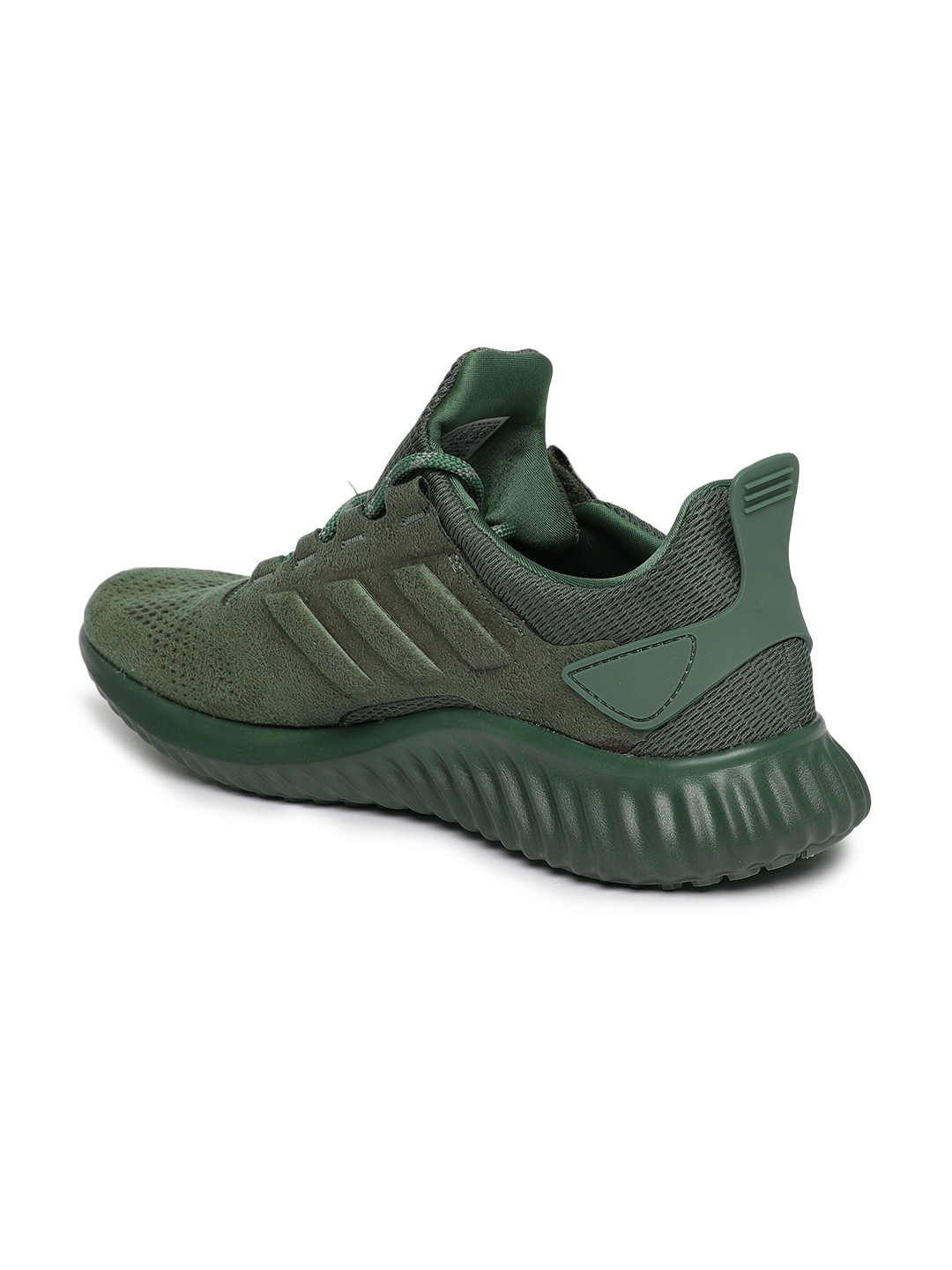 5740faf26 Buy ADIDAS Men Olive Green Alphabounce CR Running Shoes - Sports ...
