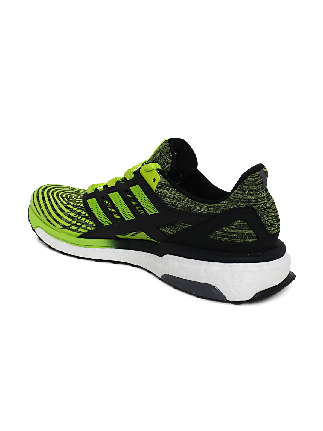 c71f7cdcca94 Buy ADIDAS Men Black   Neon Green Energy Boost Running Shoes ...