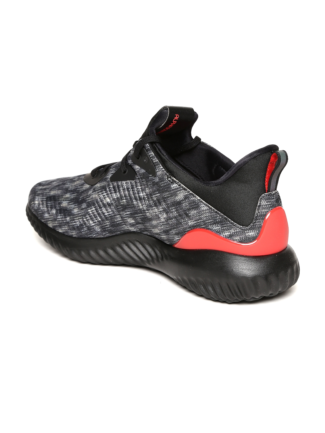 sports shoes 0b929 789ba ADIDAS Men Grey  Black Alphabounce 1 CNY U Patterned Running Shoes