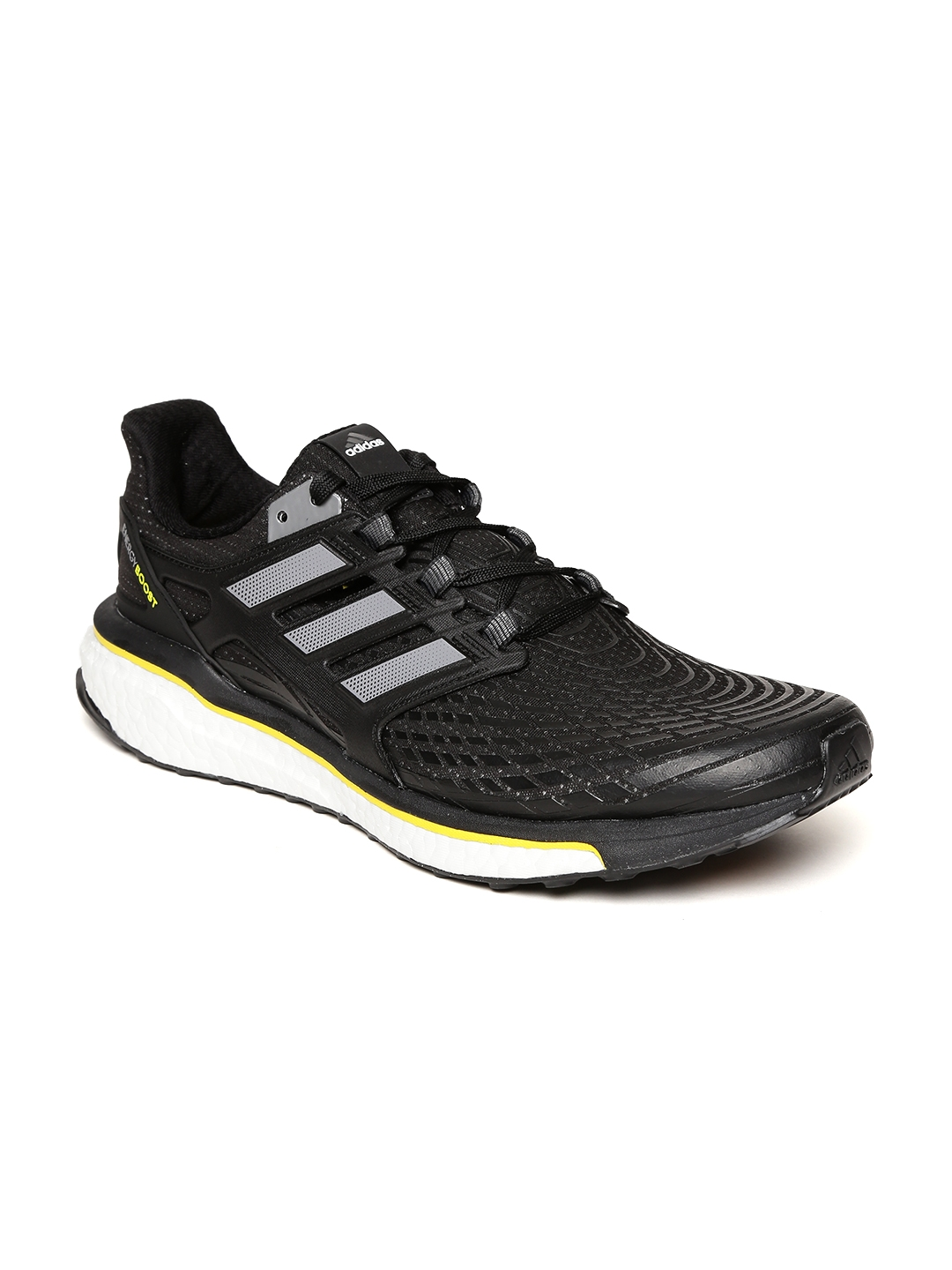 on sale e727a 19a44 ADIDAS Men Black Energy Boost Running Shoes