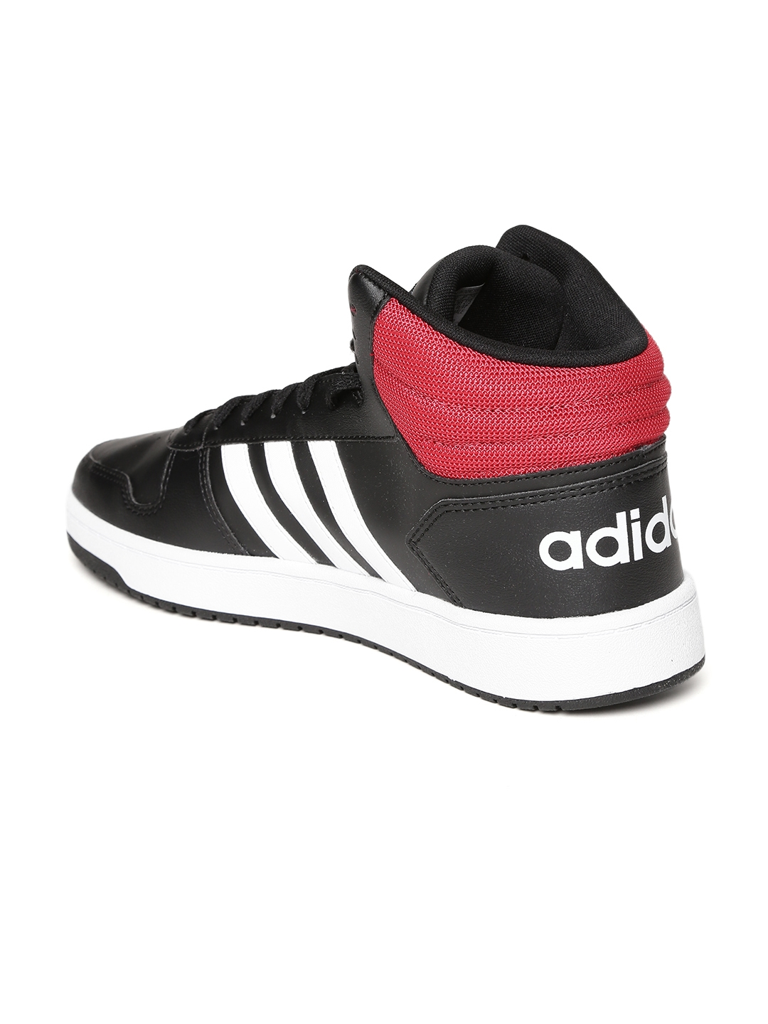 Buy ADIDAS Men Black HOOPS 2.0 MID Sneakers - Casual Shoes for Men ... d47cb6855