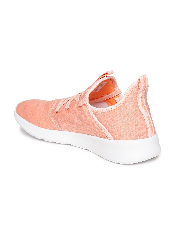 590141948dac Buy ADIDAS Women Coral Orange Cloudfoam Pure Running Shoes - Casual ...