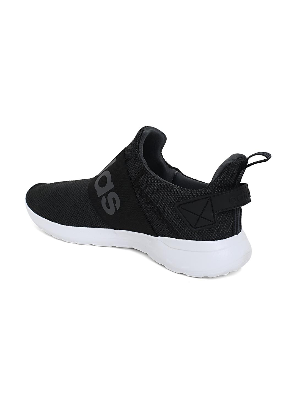 ae3dc4e3f93995 Buy ADIDAS Men Black   Grey Lite Racer Adapt Running Shoes - Casual ...