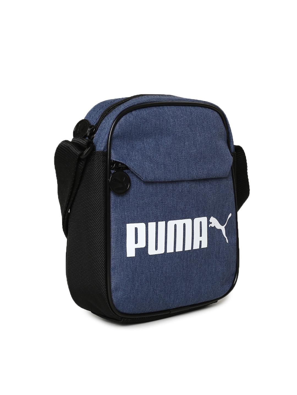 56eb5b500a Buy Puma Unisex Blue Campus Portable Woven Messenger Bag - Messenger ...