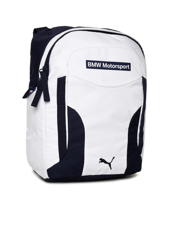 e92e1ffad24e Buy Puma Unisex White BMW Motorsport Portable Messenger Bag ...