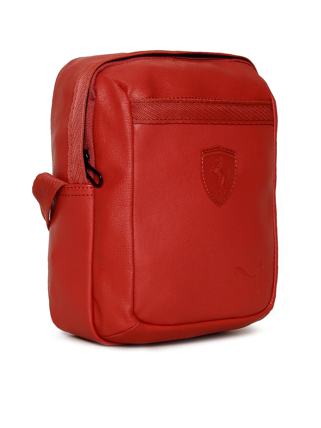 Buy Puma Unisex Red Scuderia Ferrari LS Portable Messenger Bag ... eb851962a9970