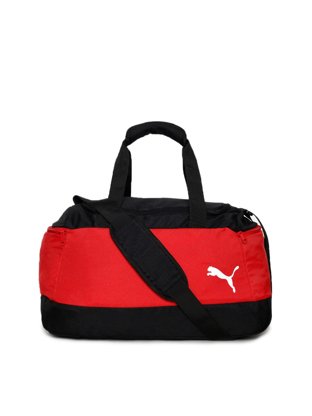 Buy Puma Unisex Red   Black Pro Training II Small Bag Duffel Bag ... f43594f398
