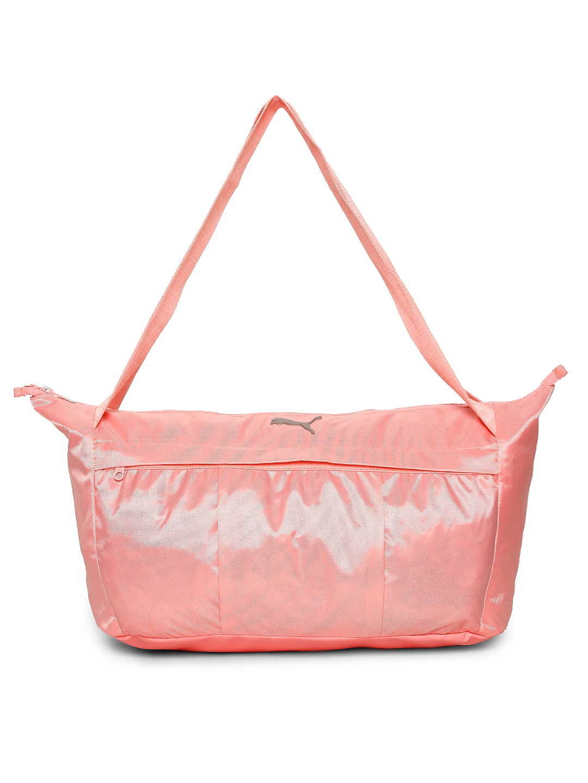 88c8d01f5446 Buy Puma Women Pink AT Sports Duffel Bag - Duffel Bag for Women ...