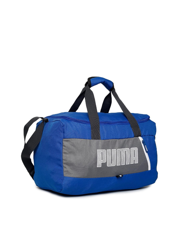 a893bb85c11c Buy Puma Unisex Blue Fundamentals Sports S II Duffel Bag - Duffel ...