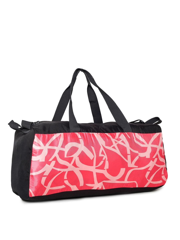 744d451aa5 Buy Puma Women Pink   Black Printed Core Active Sportsbag L Duffel ...