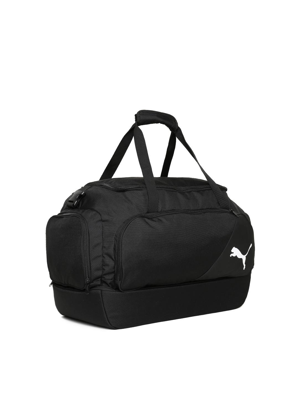 9a6ca2e0d27c Buy Puma Unisex Black LIGA Football Duffel Bag - Duffel Bag for ...