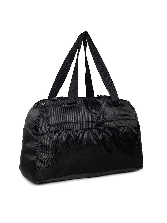 Buy Puma Women Black AT Large Tote Duffel Bag - Duffel Bag for Women ... 0dfe75bba17c1