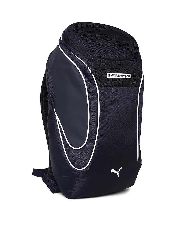 8d7a9af145e0 Buy Puma Unisex Navy BMW MS Speed Cat Evo Backpack - Backpacks for ...
