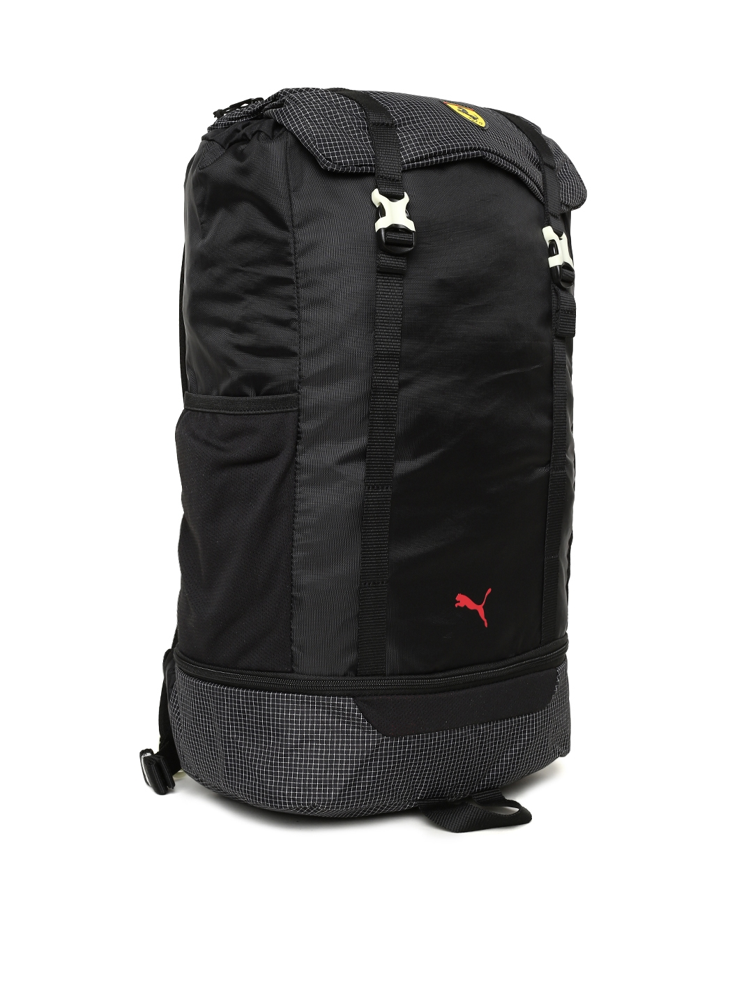 Buy Puma Unisex Black Scuderia Ferrari Fanwear Night Backpack ... fd8d22f8abe83