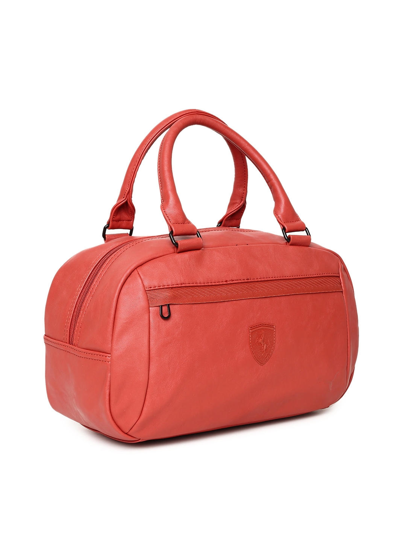 0647228fec92 Buy Puma Red Scuderia Ferrari LS Handbag - Handbags for Women ...