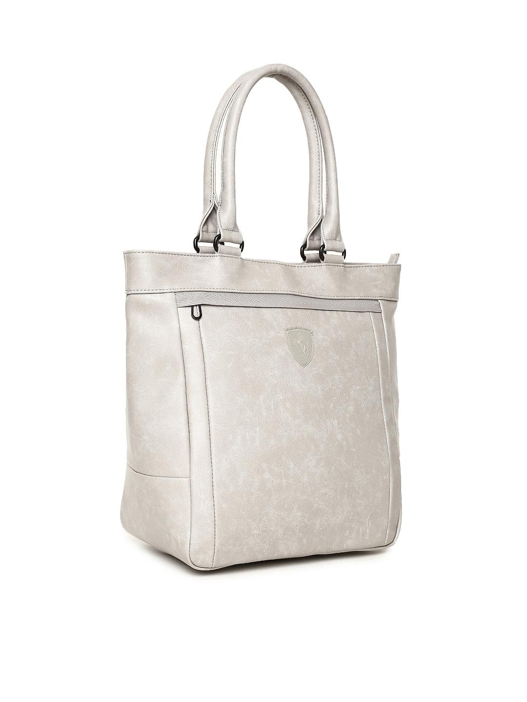 7ff55c91bb Buy Puma Grey Scuderia Ferrari LS Shopper Shoulder Bag - Handbags ...