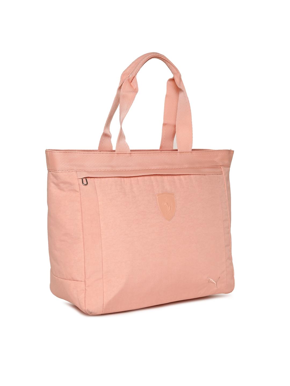Buy Puma Peach Coloured Ferrari LS Summer Handheld Bag - Handbags ... 67c91052f92d7
