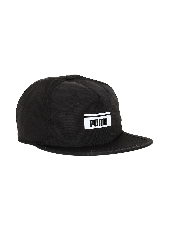 d29a201f35fc9 Buy Puma Unisex Black Solid PACE FB Snapback Cap - Caps for Unisex ...
