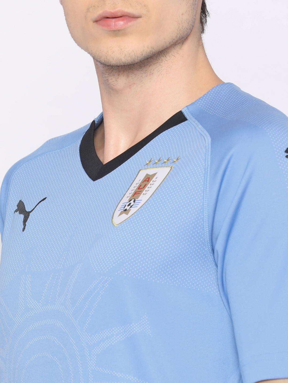 d951283cbd0 Buy Puma Men Blue Printed URUGUAY Home Replica T Shirt - Tshirts for ...
