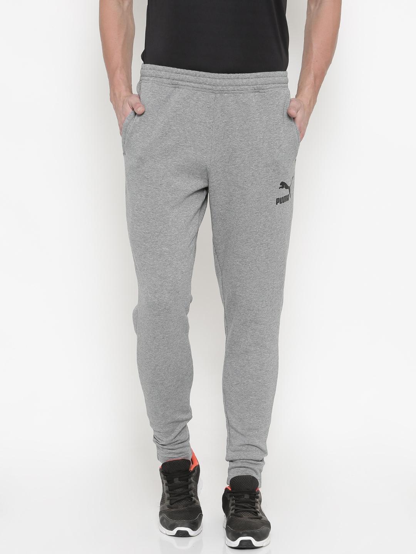 b74a14ed26f3 Buy Puma Men Grey Melange Archive Logo Sweat Track Pants - Track ...