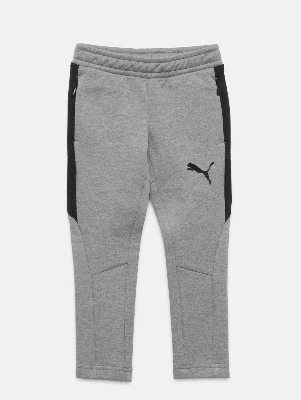 2862b1401a9c Buy Puma Boys Grey Melange Evostripe Move Track Pants - Track Pants ...