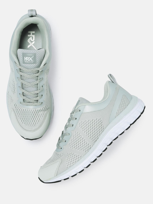 b8b2374ff04 Buy HRX By Hrithik Roshan Men Grey Running Shoes - Sports Shoes for ...
