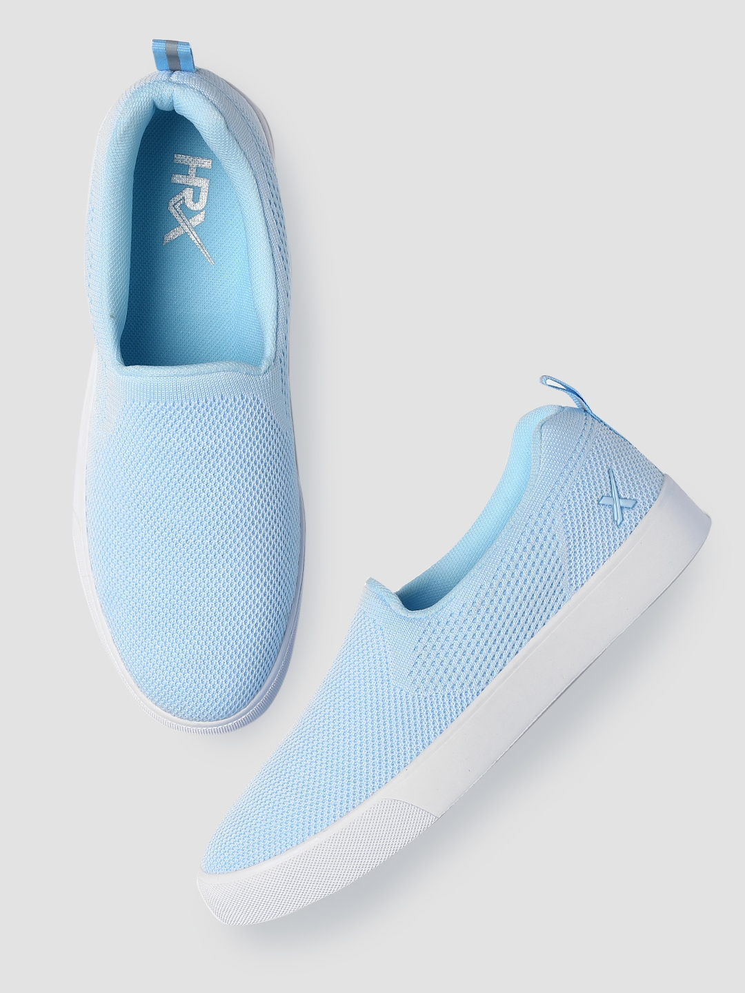 Blue Slip On Sneakers - Casual Shoes