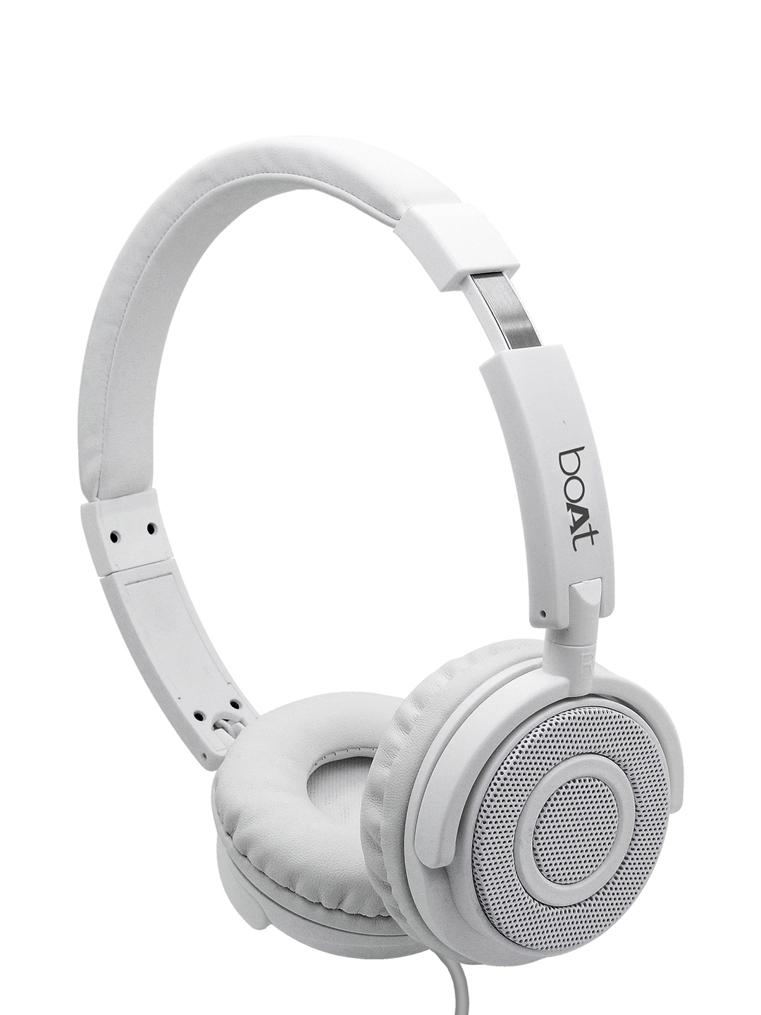 boAT White BassHeads 900 Wired Headset with Mic 8904130842733