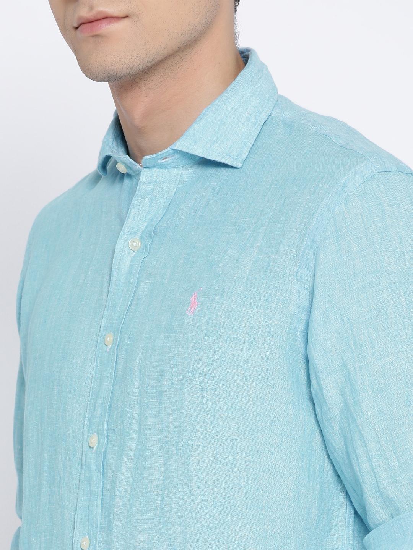 701985f735ef39 Buy Polo Ralph Lauren Classic Fit Linen Sport Shirt - Shirts for Men ...