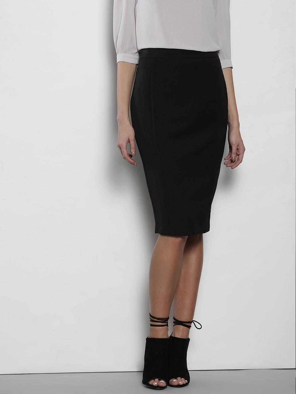 Buy DOROTHY PERKINS Black Formal Pencil Skirt - Skirts for Women ... b8e524c27