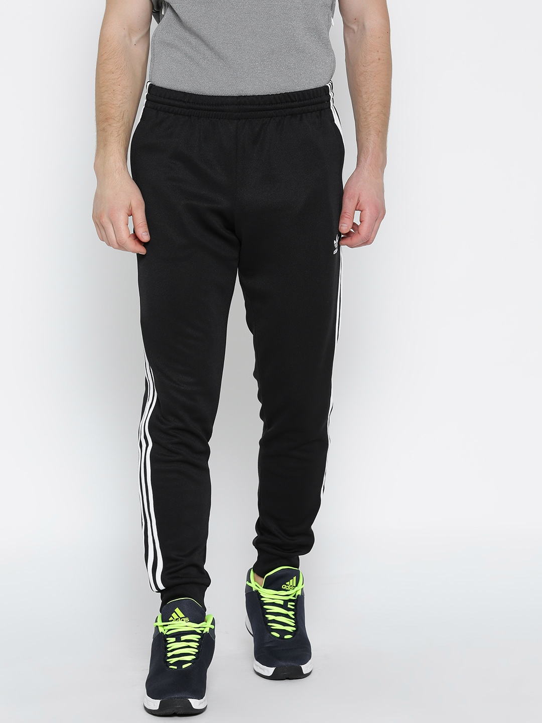 0ee3dd2dcd3e Buy ADIDAS Originals Men Black SST Solid Joggers - Track Pants for ...