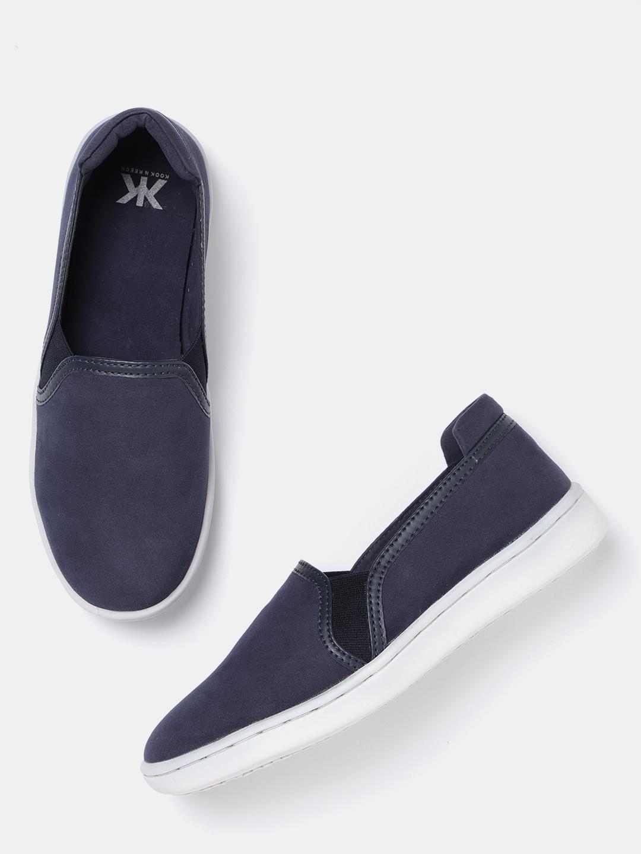 802207595e4 Buy Kook N Keech Women Navy Blue Slip On Sneakers - Casual Shoes for ...