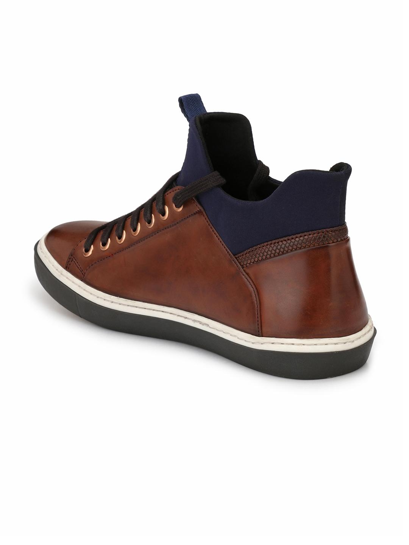 94332e7a784276 Buy Alberto Torresi Men Brown Sneakers - Casual Shoes for Men ...