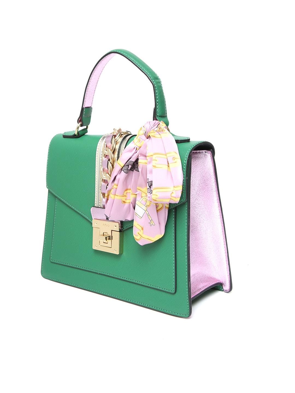9565aeef69 Buy ALDO Green Solid Satchel With Sling Strap - Handbags for Women ...