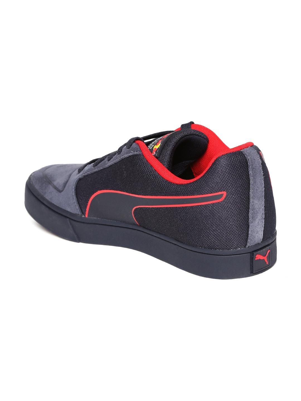 667c1206393 Buy Puma Men Navy Blue RBR Wings Vulc Bulls Sneakers - Casual Shoes ...