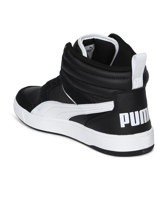 28c043b47dde5e Buy Puma Men Black Rebound Street V2 Mid Top Sneakers - Casual Shoes ...