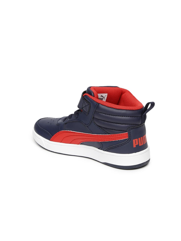 1b847c8c48ab Buy Puma Kids Navy Rebound Street V2 L V Pre School Sneakers ...