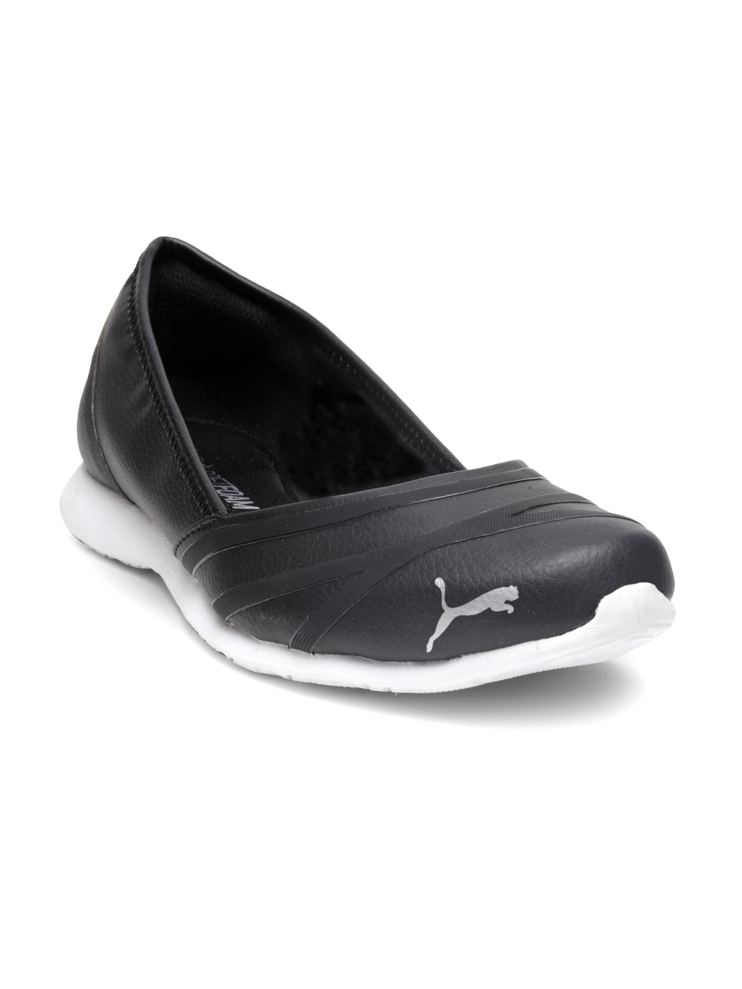 72f3854a63e Buy Puma Women Black Vega Ballet SL IDP Solid Synthetic Ballerinas ...