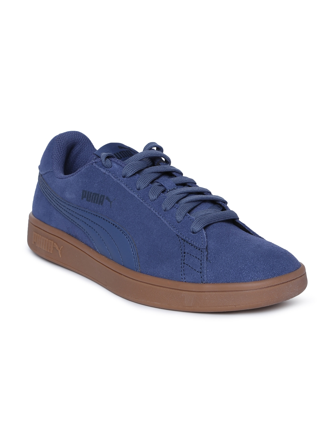 b3be7b6b117f Buy Puma Men Blue Puma Smash V2 Suede Sneakers - Casual Shoes for ...