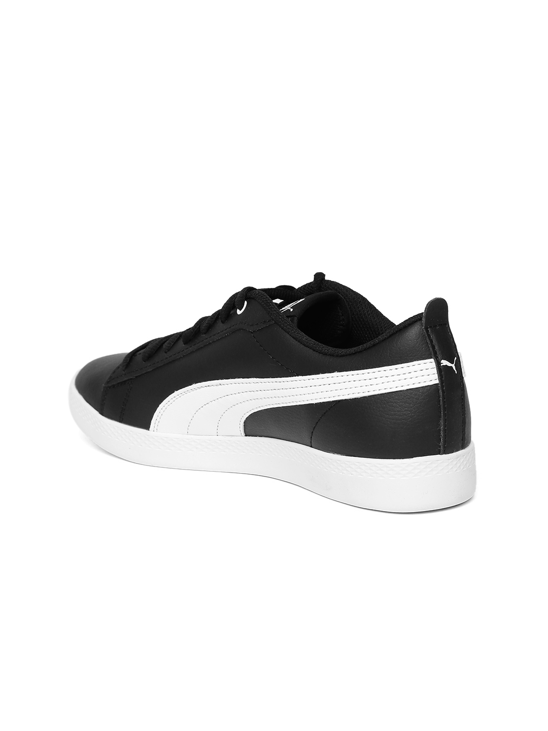 d9d4c516b5d6 Buy Puma Women Black Smash V2 Leather Sneakers - Casual Shoes for ...