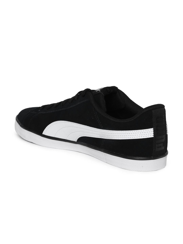 c99c1cfab7c4 Buy Puma Men Black Urban Plus Suede Sneakers - Casual Shoes for Men ...