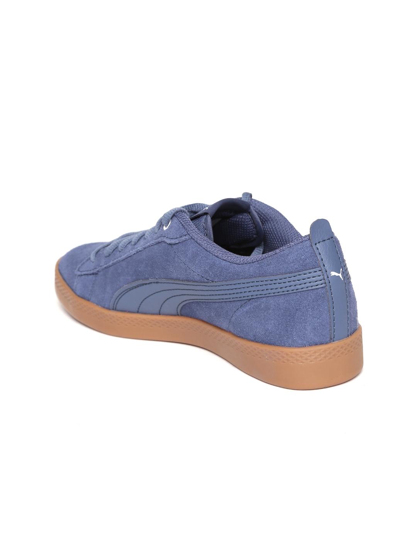 953a338a706e0a Buy Puma Women Blue Smash V2 SD Sneakers - Casual Shoes for Women ...