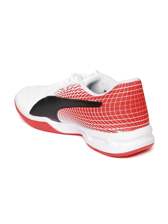 ae9fc6711b51 Buy Puma Men White Veloz Indoor NG Badminton Shoes - Sports Shoes ...
