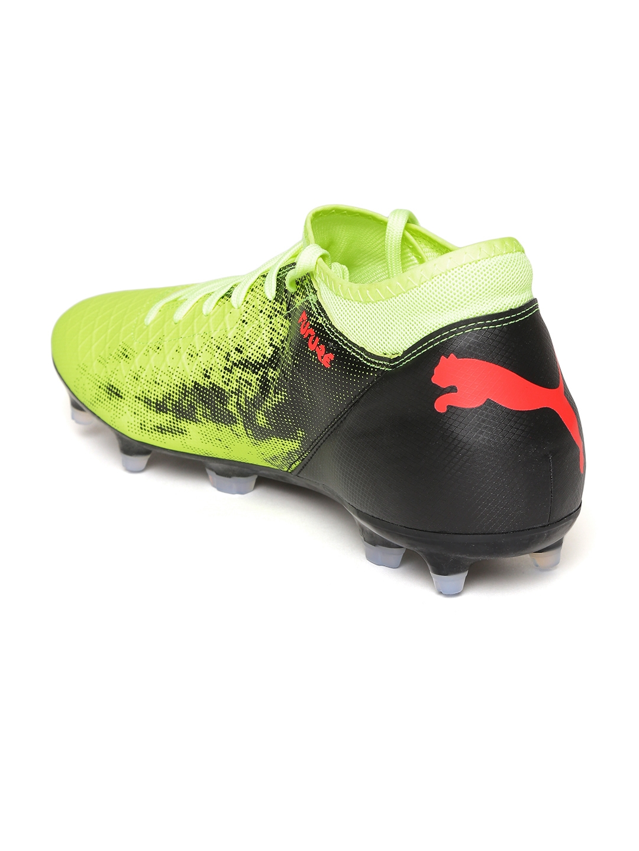 b7254e528a3a Buy Puma Men Yellow FUTURE 18.4 FG AG Football Shoes - Sports Shoes ...
