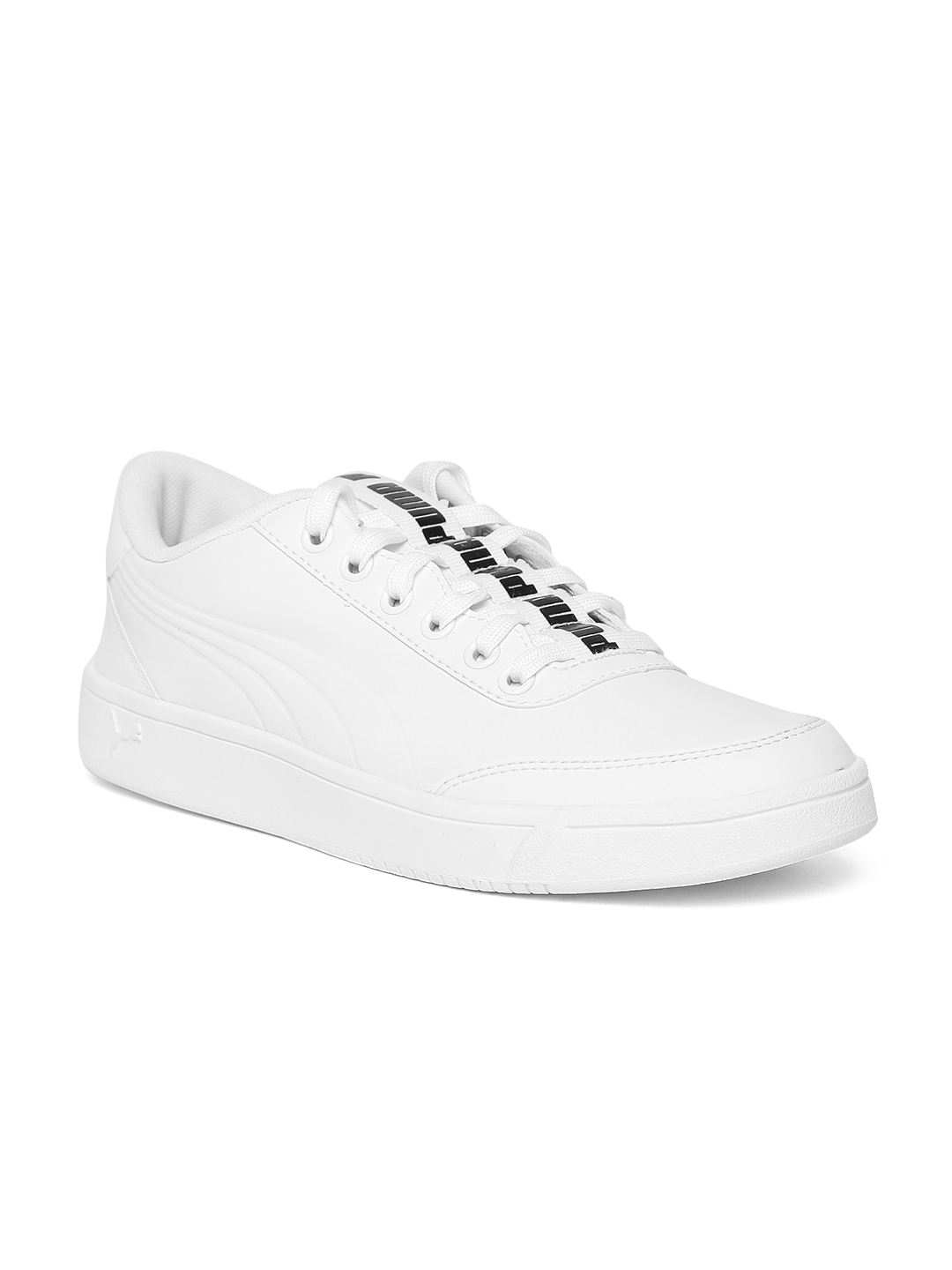 de2ffb052e65 Buy Puma Men White Court Breaker Bold Leather Sneakers - Casual ...