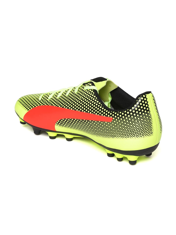 f10743148cb0 Buy Puma Men Fluorescent Green Spirit Artificial Grass Football ...