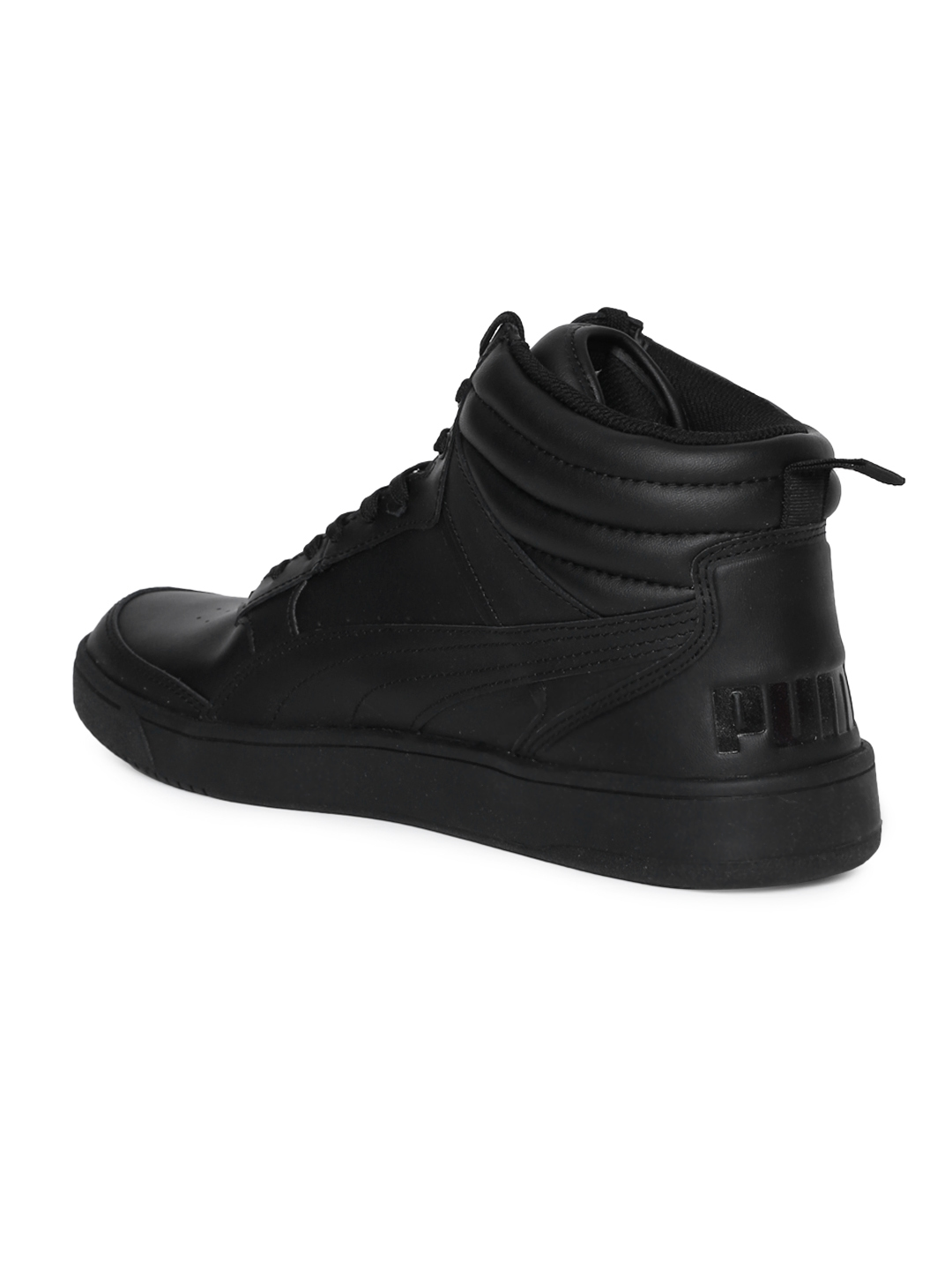 06b8211fd87 Buy Puma Men Black Rebound Street V2 L IDP Sneakers - Casual Shoes ...